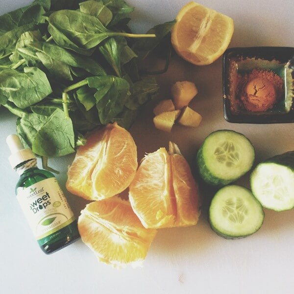 Simple Detox Green Juice - Blending Food and Design in Vancouver.